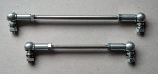 Accelerator (throttle) linkage set (RHD)