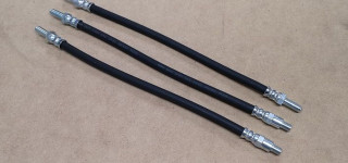 Brake hose set of 3 (Series IV,V,Tiger)