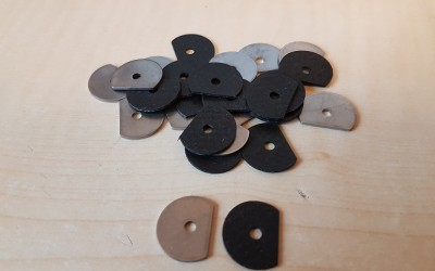 Letters speed clip gasket & washer set