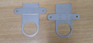 Middle exhaust hanger set (2.5 inch)