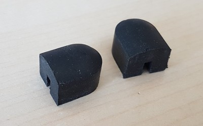 Door A-post seal caps (pair)