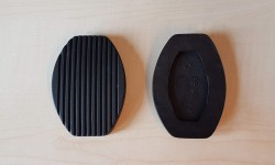 Rubber Pedal Pads (pair)