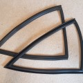 Hardtop quarter window seals (pair)