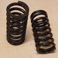 Front springs - up-rated (pair)