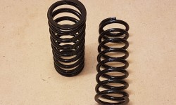 Front springs - standard Tiger (pair)