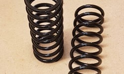 Front springs - up-rated Alpine (pair)