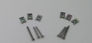 Indicator and sidelight screw set
