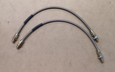 Front brake hoses (pair)