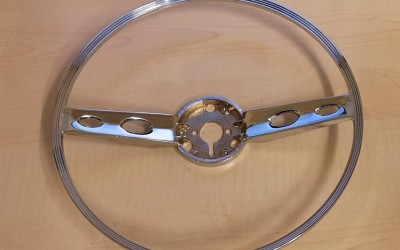 Steering wheel horn-ring