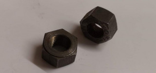 Track rod locking nuts (9/16 RHT & LHT)