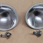 Head-light units with H4 bulbs (LHD)
