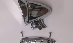 Wing or door mirror (bullet style)